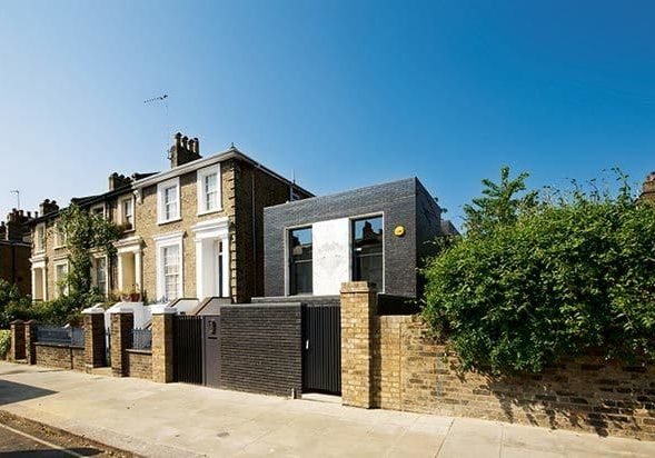 Contemporary new-build in Conservation Area Camden Self Build