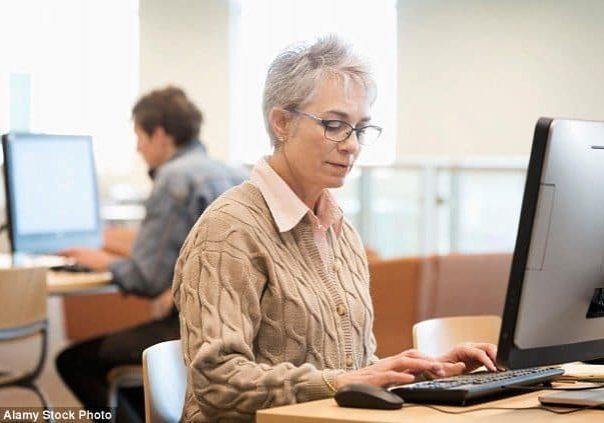 lady office worker